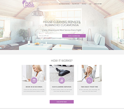 Merchant logo Full Moon Cleaning Services